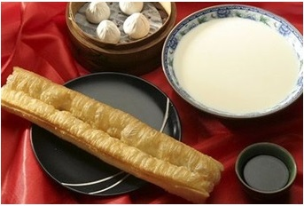Photograph of Chinese breakfast