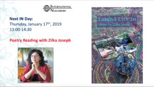 Poetry Reading with Zilka Joseph