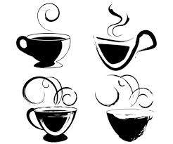 Drawing of tea cups